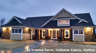 Re-Invented Ranch, Craftsman Exterior
